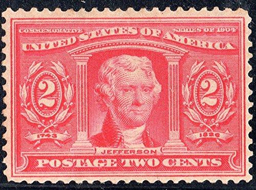 Stamps U.S. Scott 324 Jefferson 2 Cent - Us 324