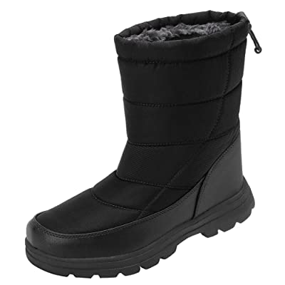 EQUICK Women and Men Waterproof Snow Boot Drawstring Cold Weather Boot | Snow Boots