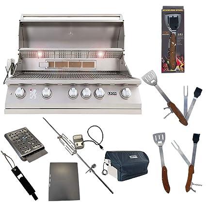 Amazon.com: Lion Premium Grills L90000 Parrilla de propano ...