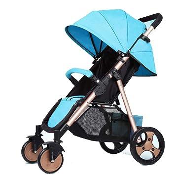 QZX Sillitas Cochecito para niños Cochecito de niño Plegable, Ajustable Carrito de Viaje Sistema Invierno