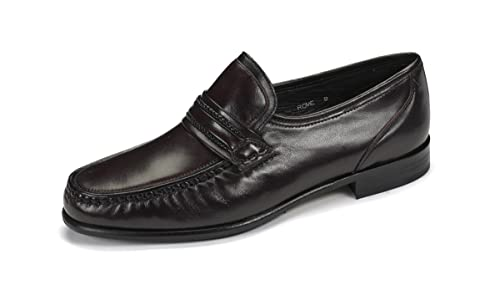Loake Bros Ltd - Mocasines para hombre, color rojo, talla 45: Amazon.es: Zapatos y complementos