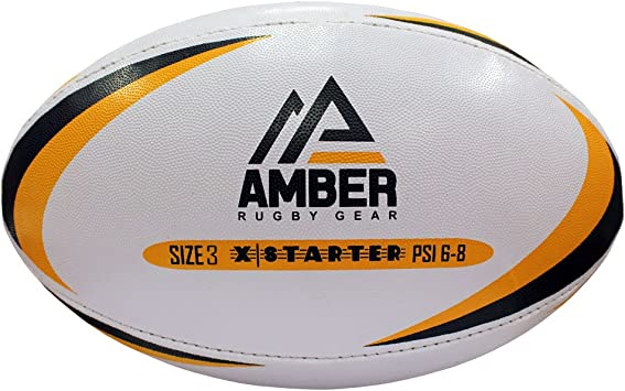Nino Cerruti Ámbar x-Starter Pelota de Rugby: Amazon.es: Deportes ...