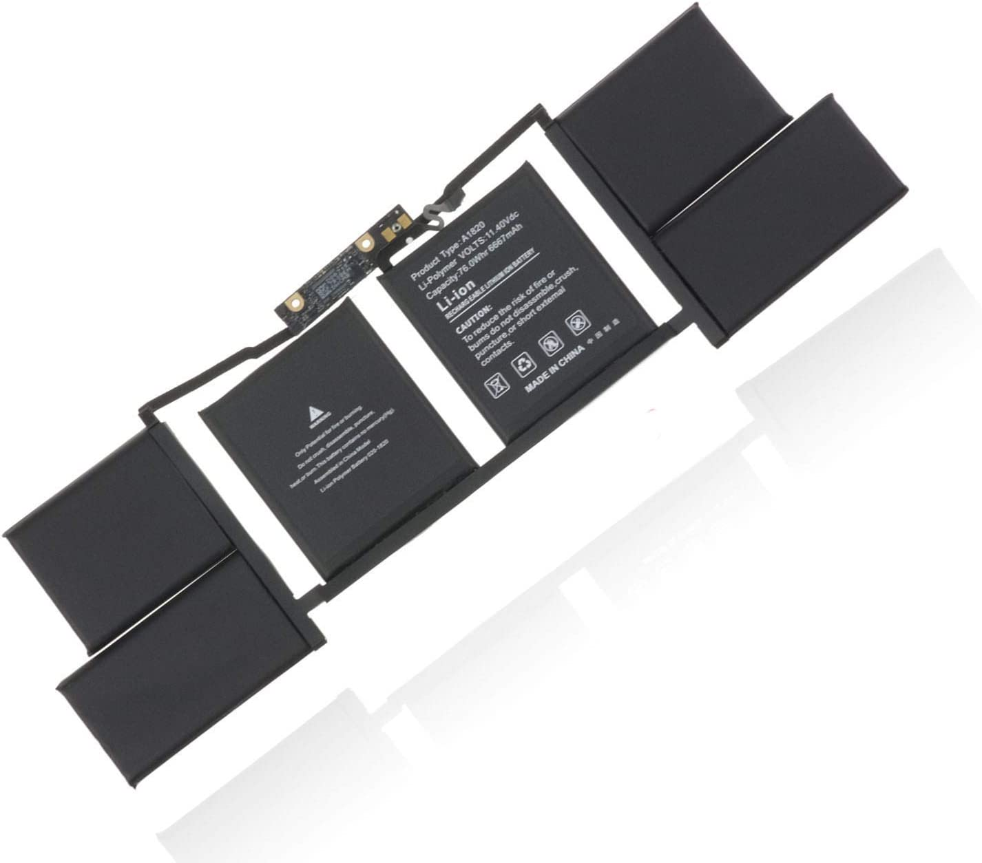 A1820 Laptop Battery Replacement for Apple MacBook Pro 15