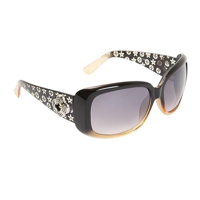 Amazon.com: Para mujer anteojos de sol 100% UV Protección ...
