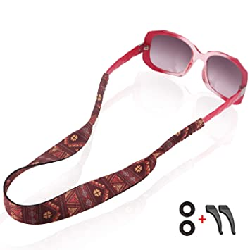 Outdoor Sunglasses Strap Floating Eye Wear Retainer Ashley Plus Free Te One Size