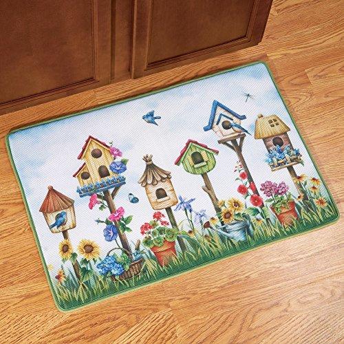 [해외]홈 스위트 홈 버드 하우스 도어 매트/Home Sweet Home Birdhouse Door Mat
