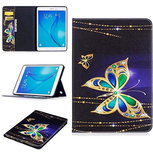 Super Slim Case Cover for Samsung Galaxy Tab A 9.7-Inch Tablet SM-T550 Black - 9
