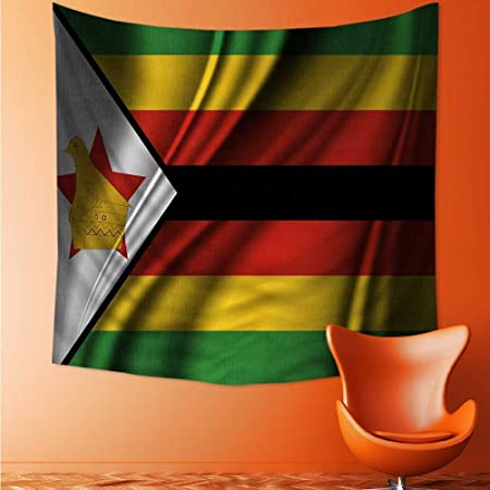 Also Easy Home Decor Flag Of Zimbabwe Tapestry Wall Hanging Art For