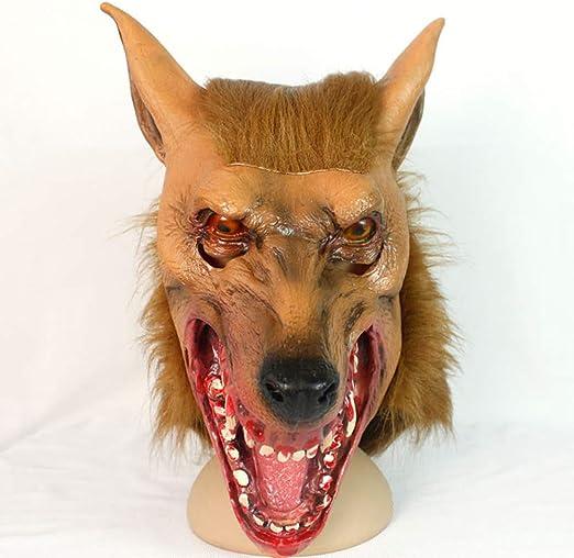 Halloween Máscara De Pelo Disfraz De Fiesta De Disfraces del ...
