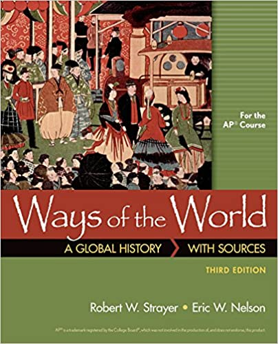 Amazoncom Ways Of The World With Sources For Ap 9781319022723