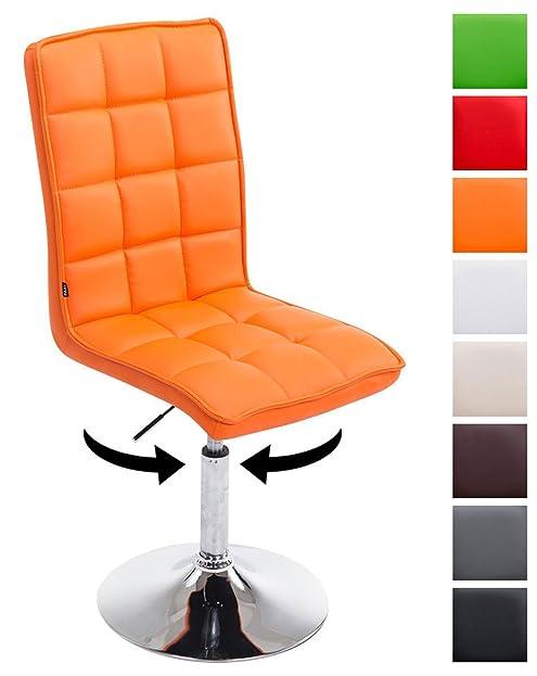 clp design esszimmer stuhl peking v2 mit kunstleder bezug max belastbar bis - Esszimmer Orange