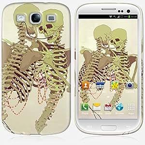 Galaxy S3 case - Skinkin - Original Design : Hug bones by Daniel Caballero