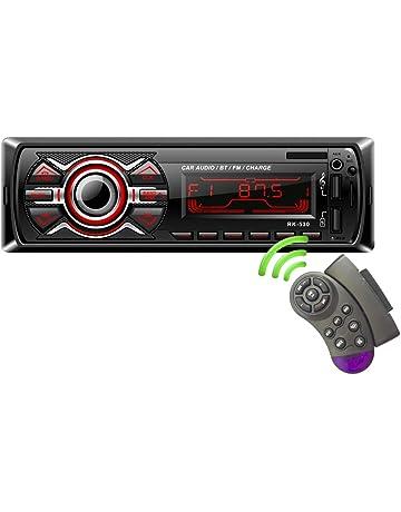 LSLYA 7 Retroiluminación en Color Coche Stereo Auto Radio Universal para automóvil Receptor estéreo 1 DIN