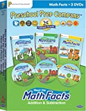 Meet the Math Facts Addition & Subtraction - 3 DVD Boxed Set