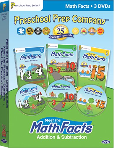- Meet the Math Facts Addition & Subtraction - 3 DVD Boxed Set