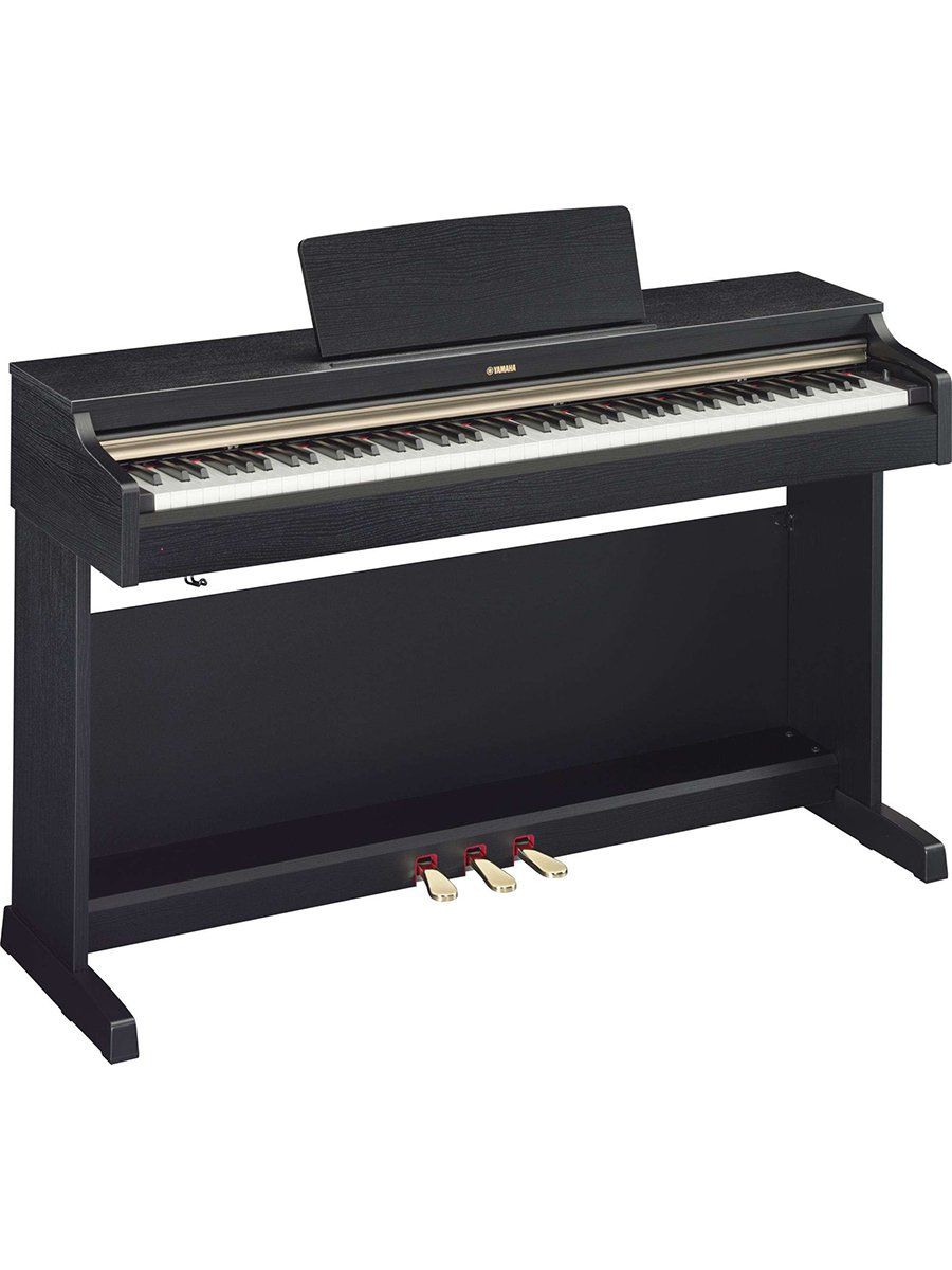 Yamaha Arius YDP162B Traditional Console Digital Piano with Bench, Black Walnut Yamaha PAC Arius YDP 162B