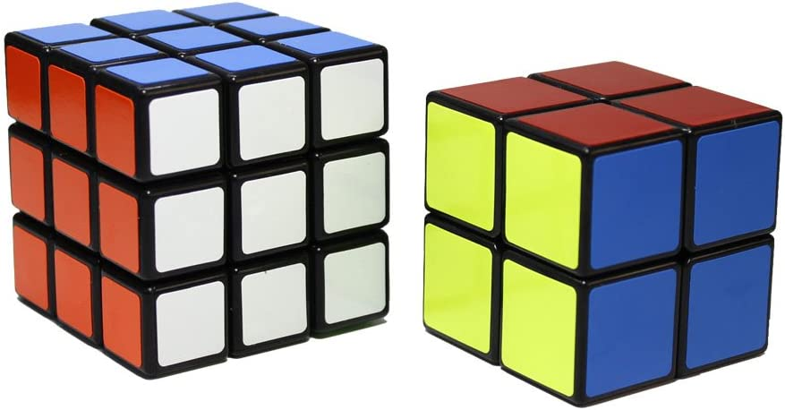 OJIN Shengshou Speed Cube Puzzle Sets-Pack de 2 Smooth Bundle Puzzle Cube 2x2x2 3x3x3, Shengshou Speed Cube Collection (Negro): Amazon.es: Juguetes y juegos