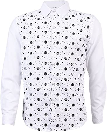 SODIAL Camisas Para Hombre de Patron de Estrellas de Cabeza ...