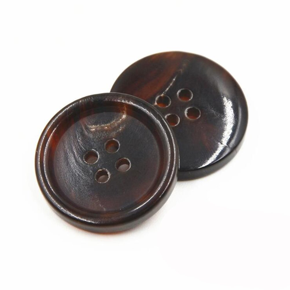 12 pcs Genuine Horn Blazer Suits Button Set for Blazer, Suits, Sport Coat, Uniform, Jacket,C446 HEMALL