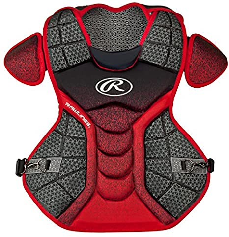 Rawlings Sporting Goods Catchers Chest Protector Velo Series Adult 17 inch CPVEL