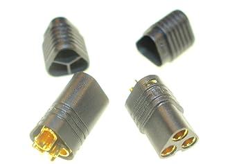 3 pines conector para motores regulador ESC Conector de 3,5 mm Oro ...