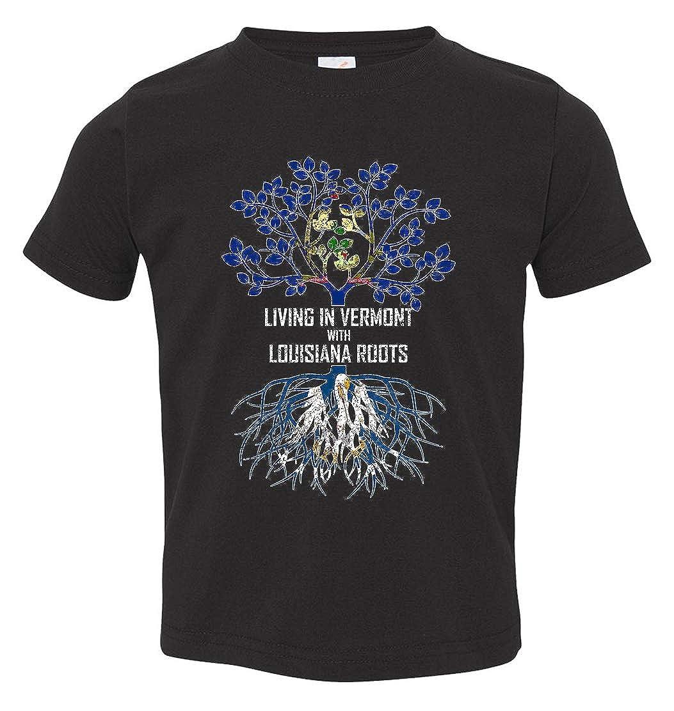 Tenacitee Babys Living in Vermont Louisiana Roots Shirt
