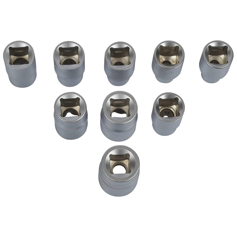 Torx T30/T40/T45/T50/T55/Cl/é Torx T60/T70/ E10/E11/E12/E13/E16/E18/ Torx Bit 16/pi/èces Nussatz Torx beaucoup /à dents Noix Bit Jeu de douilles Outils /E