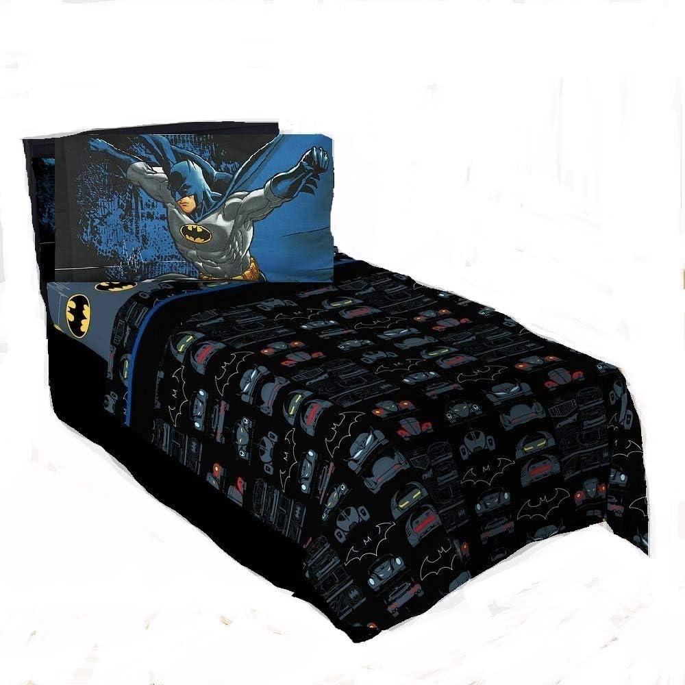 Batman The Dark Knight Kids Twin Bedding Sheet Set