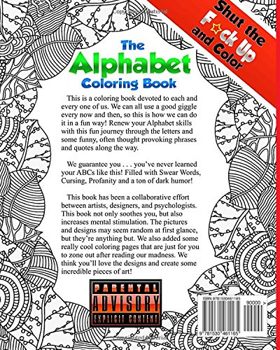 Amazon.com: Shut the F*ck Up and Color 4: The Alphabet Coloring ...