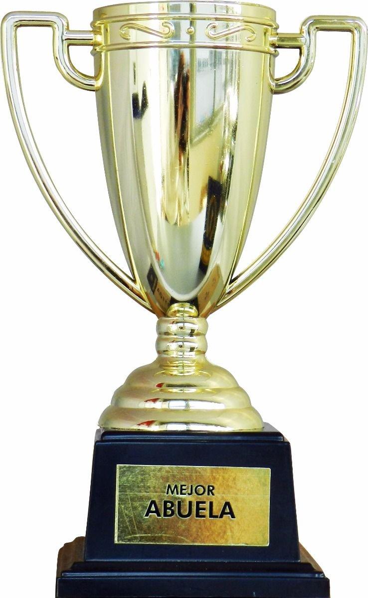 Framan Coppa trofeo con messaggi per occasioni speciali, idea regalo originale e económico. Scritta Miglior nonna PLAS GRAFIC