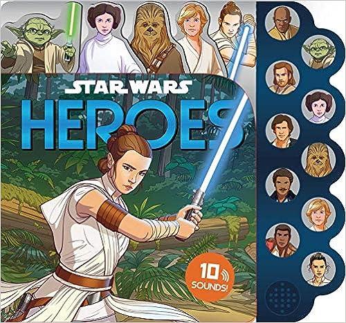 Star Wars: 10-Button Sound: Heroes (10-Button Sound Books)