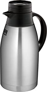 Zojirushi SH-FB19 Stainless Steel Vacuum Carafe with Brew-Thru Lid, 64-Ounce, Black