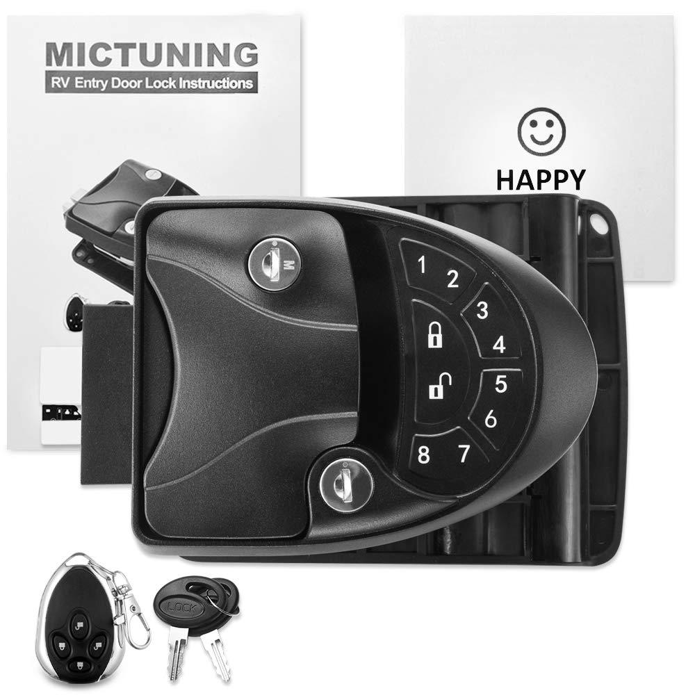 Amazon.com: MICTUNING RV Cerradura de puerta de entrada sin ...
