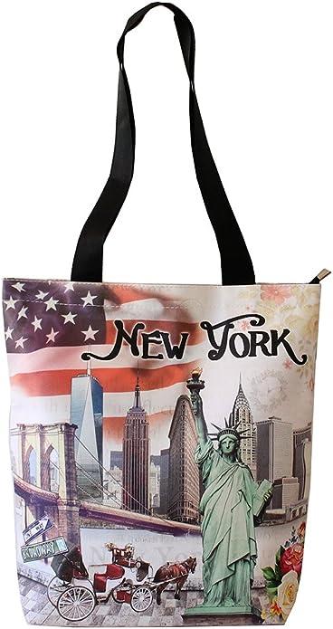 Amazon.com: Nueva York bandera de Estados Unidos Souvenir ...