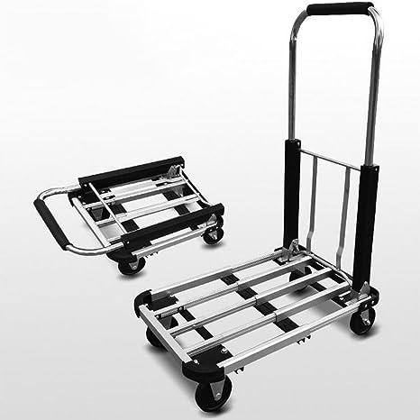 BRG315 150Kg Plataforma Plegable De Aleación De Aluminio De Alta Resistencia Carro Extensible De Cuatro Ruedas Para ...