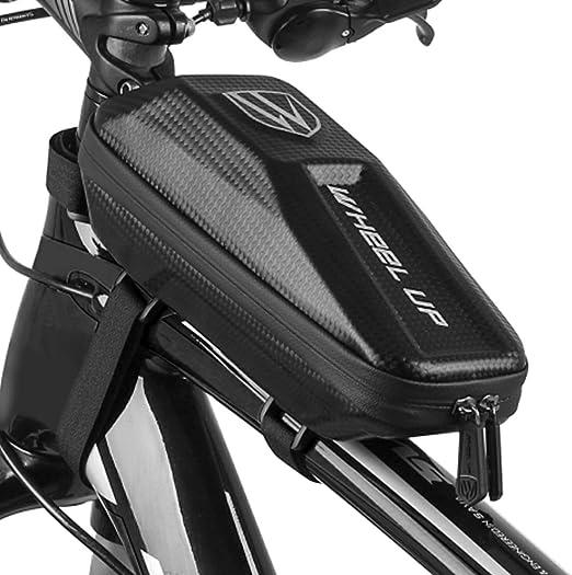 Bike Top Tube Bag Waterproof Bicycle Front Frame Phone Holder Saddle Pannier USA