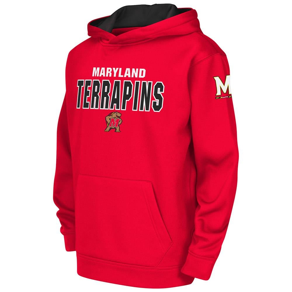 Colosseum Kids Maryland Terrapins Poly Pull-over Hoodie