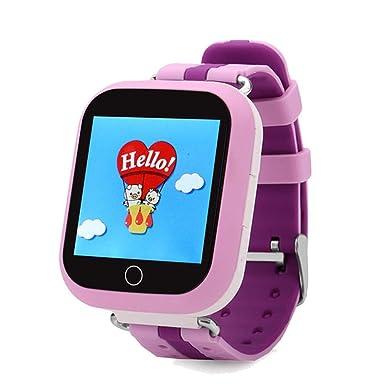 Reloj inteligente Q750 Early Learning Kids Reloj Inteligente WiFi GPS Localizador LBS Monitor reloj teléfono 1.54