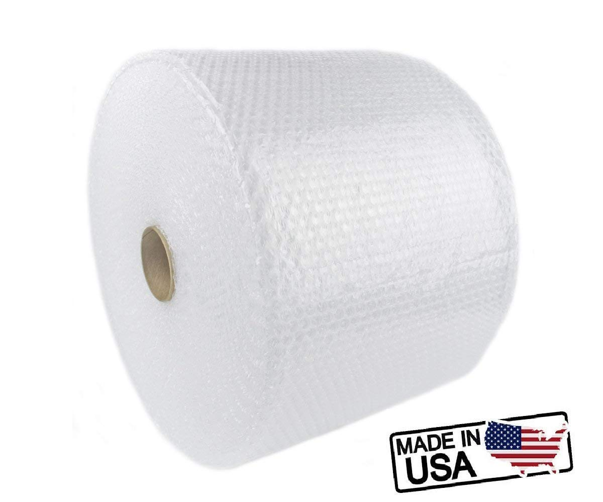 SIMPLE RELAX Simple Wrap, 175 ft x 12 inches Small Bubble 3/16 inches Cushioning Wrap, Perforated Every 12 inches Moisture Resistant. Made in USA (175 ft X 12 inches)