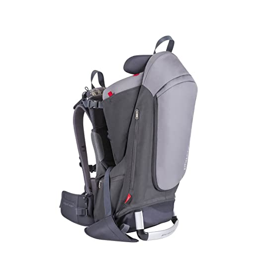phil&teds Escape Child Carrier Frame Backpack, Charcoal