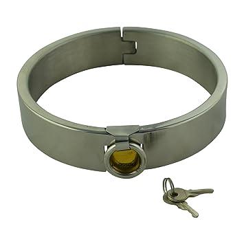 mode la plus désirable toujours populaire rechercher le dernier Bdsm Erotik - Collier en acier avec cadenas 120 mm ...