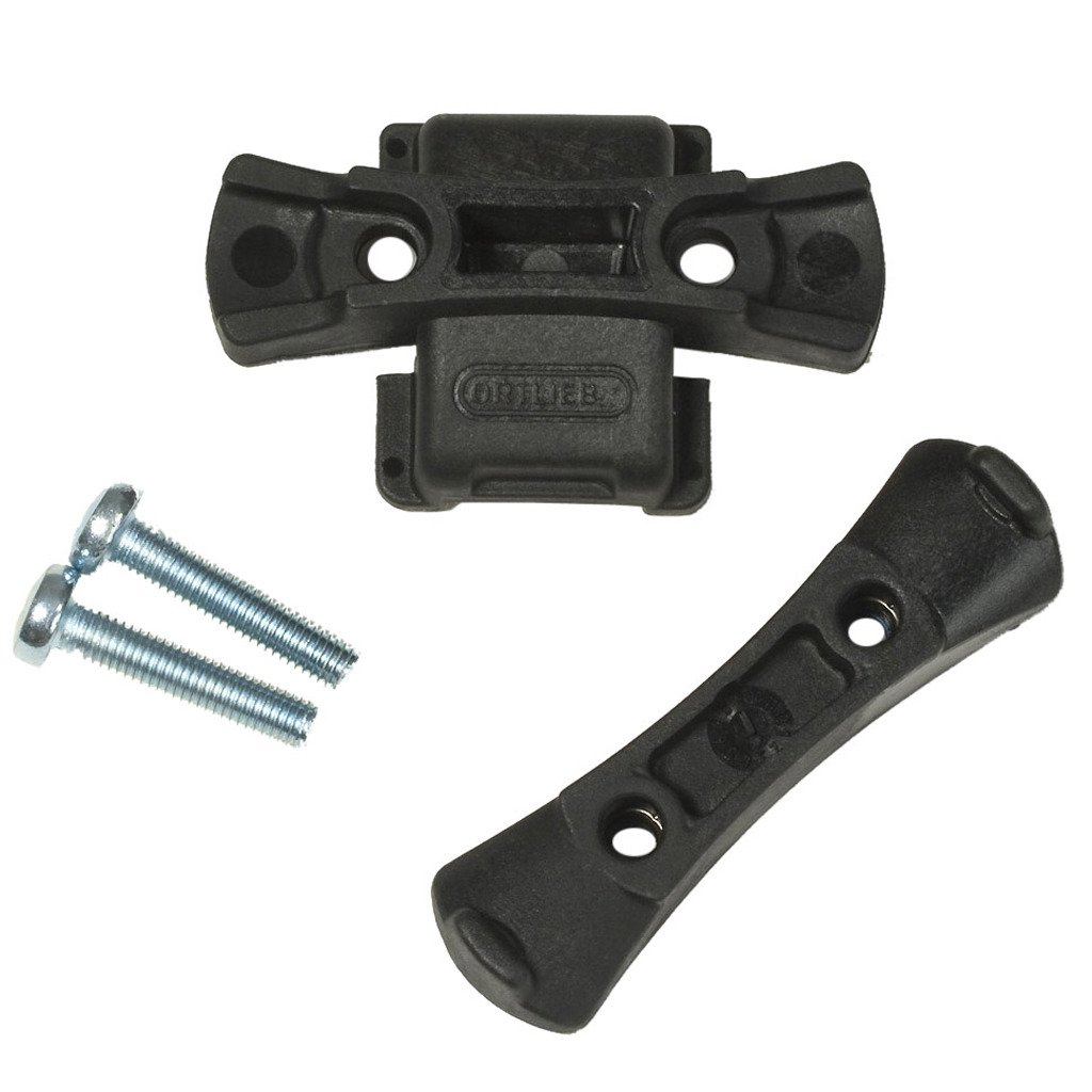 Ortlieb Mounting Set Saddle Bag//Holder Set Black One Size