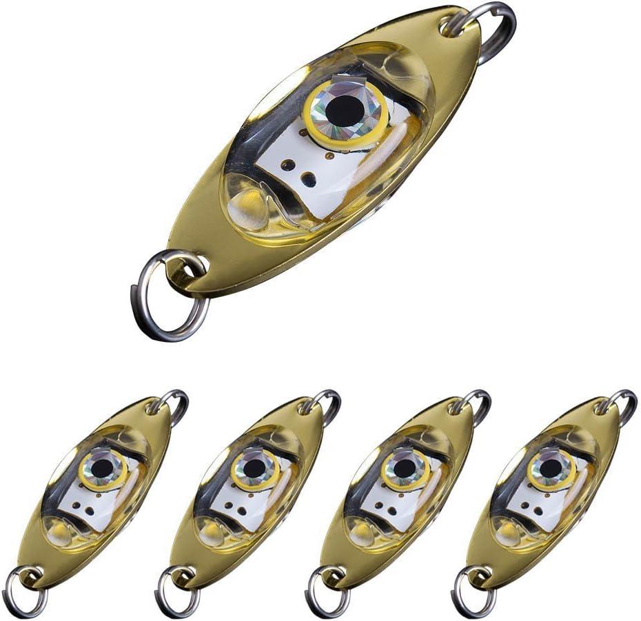 Deepwater Fishing LED Fish Lure Bait Lights Flashing Lamps Tackle Hooks OutdooAB