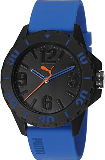 Puma Pu103801003 pour homme Coque en plastique Bleu Silicon