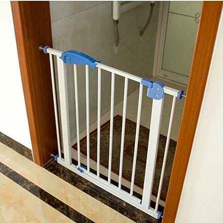 YHDD Puerta de Seguridad para bebés Puerta de Aislamiento niños balcón Puerta Protectora para Mascotas escaleras Cerca Cerca de la Cocina Barrera retráctil Puerta (Tamaño : 85-94cm): Amazon.es: Hogar