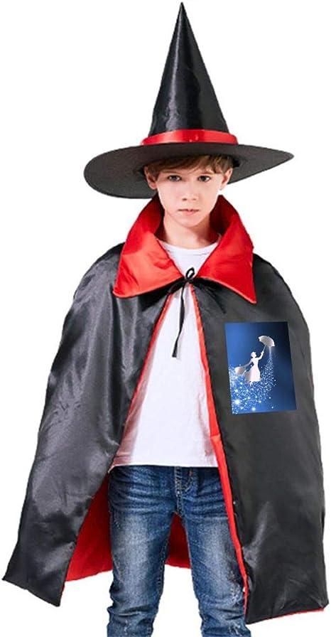 NUJSHF Mary Poppins Platino Unisex Niños Capa con Capucha para ...