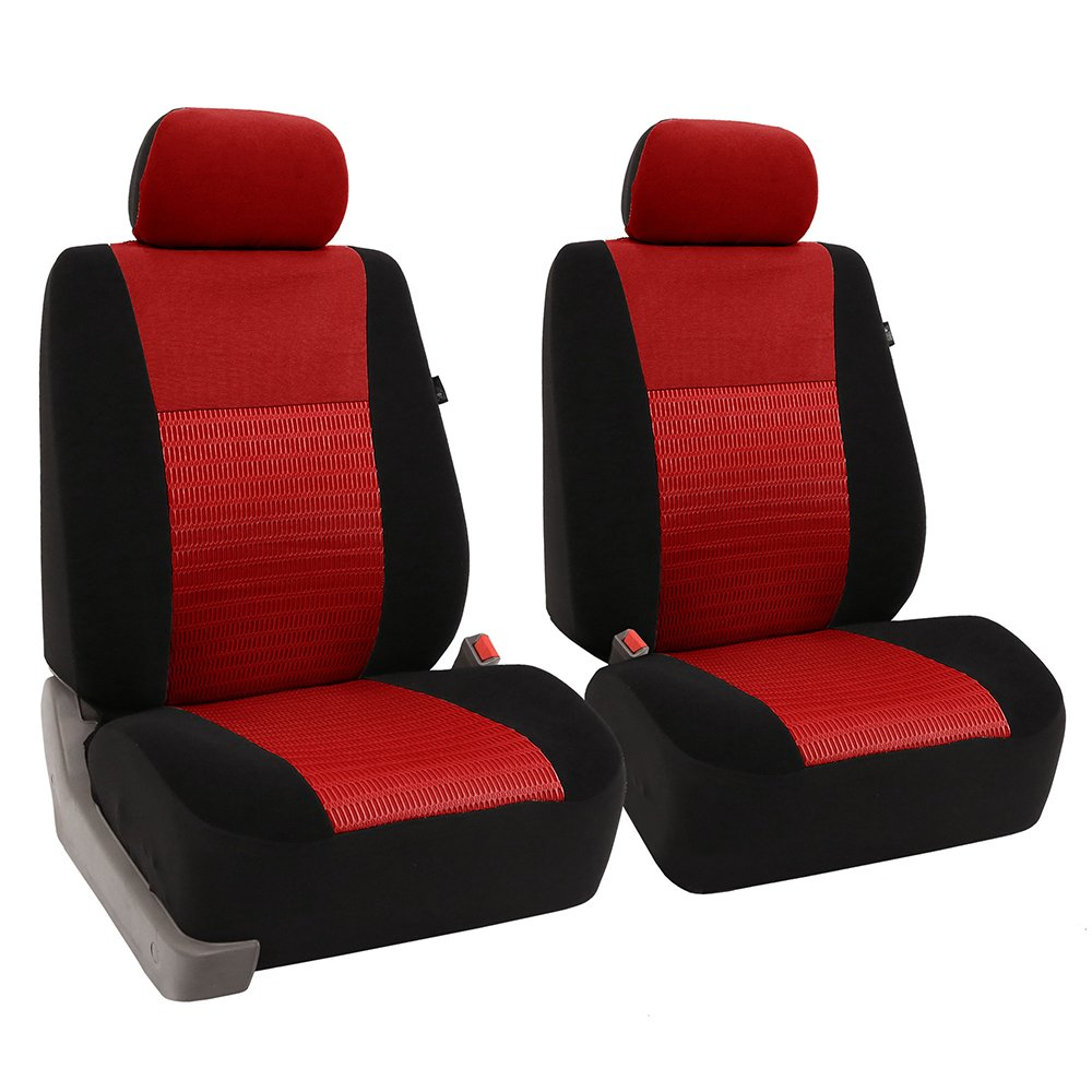 FH Group FB071BLACK115 Car Seat Cover (Travel Master Airbag and Split Bench Compatible Black)