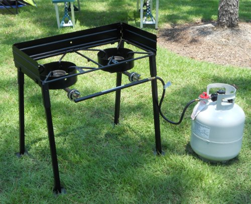 double burner propane cooker - 6