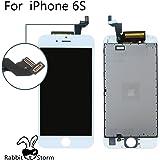 (Super LCD Shop)iPhone6S 修理用フロントパネル(フロントガラスデジタイザ) タッチパネル 液晶パネルセット(ホワイト)