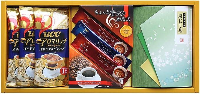 AGF・UCC / コーヒー・ドリップ緑茶( ADU-15 )